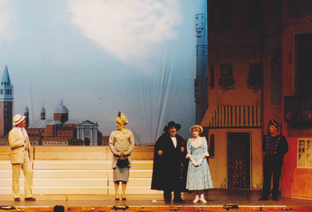 Colin Sly in the Gondoliers 1995